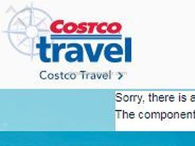 Costco Travel - Unable to book due to website error