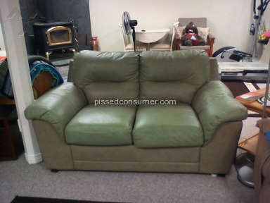 Bad Boy Furniture - Bonded Leather Sectional Review from Markham, Ontario