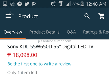 Lazada Philippines Website review 247240