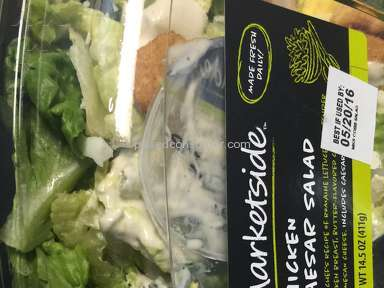 Walmart Chicken Caesar Salad review 134719