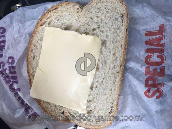 Wienerschnitzel Sandwich