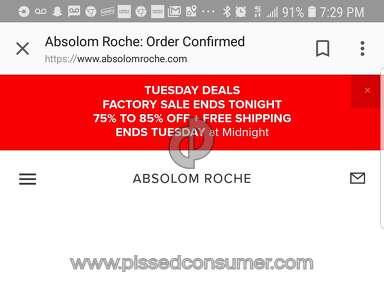 Absolom Roche - No response