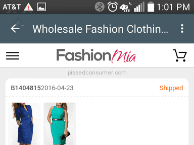 Fashionmia Footwear and Clothing review 132815