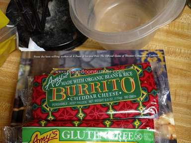 Walmart Amys Kitchen Burrito review 170880