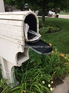 Usps - Terrible Mail Carrier Jul 20, 2016 @ Pissed Consumer