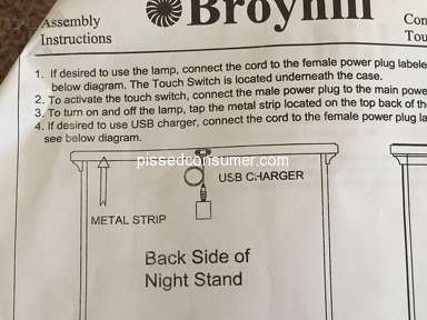 Broyhill Furniture Nightstand review 292544
