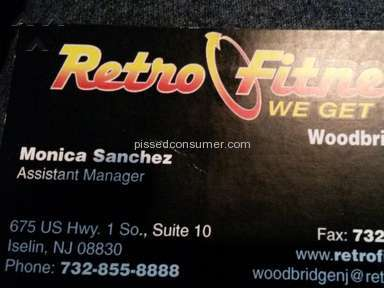 Retro Fitness - Membership Review from Woodbridge, New Jersey
