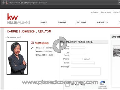 Keller Williams Realty - Buyer Rep: Carrie Johnson, East Point, GA