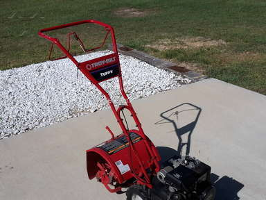 Troy Bilt Garden Rototiller Review from Houston, Texas