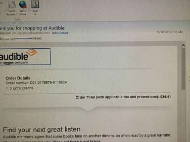 Audible Virtual Library review 173884