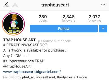 TrapHouseArt - When trying to support local art goes wrong