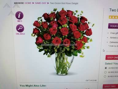 1stop Florists Roses Flowers review 257588