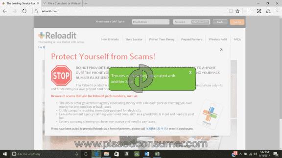 Reloadit Website