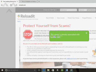 Reloadit - Reload It is nothing but a scam