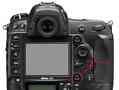 Nikon D4 multi-selection button fell off