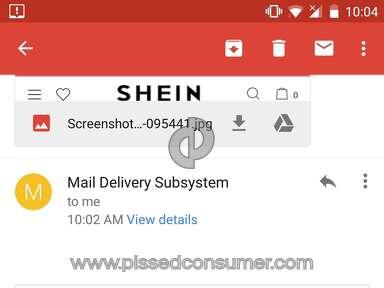 Sheinside Shipping Service review 235048