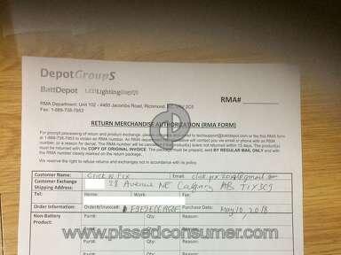 BattDepot Customer Care review 349312