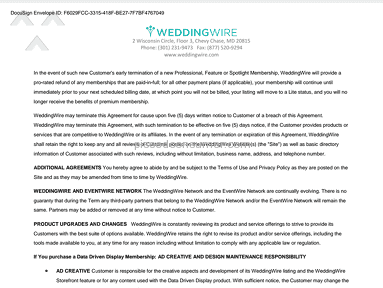 Weddingwire - VENDORS - beware!