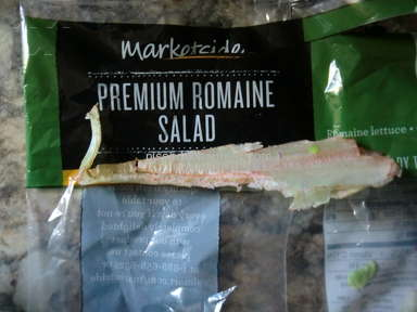Marketside - Premium Romaine not premium with a large piece of the romaine rib in it.