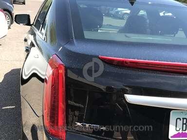 Cadillac - Service dept damaged vehicle report