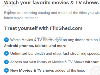 Flixshed Telecommunications review 118041