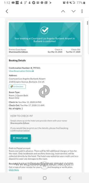 SnapTravel - Refund\/credit Apr 26, 2020 @ Pissed Consumer