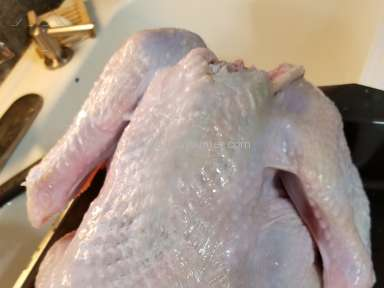 The Fresh Market - Fresh Market Turkey not so fresh. Ruined our family Christmas dinner.