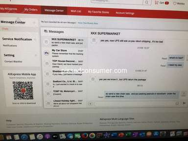 Aliexpress Customer Care review 726607