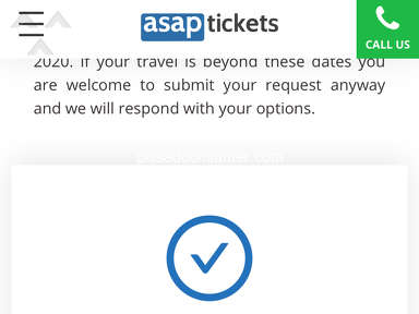 Asap Tickets Customer Care review 546175