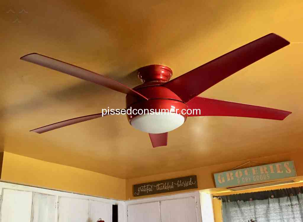 Home Decorators Collection Ceiling Fan Review 318556