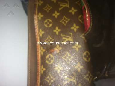 Louis Vuitton - Poorly made handbags