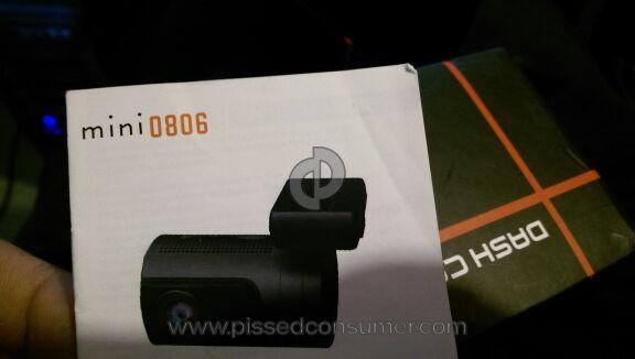 Ambarella Mini 0806 Backup Camera