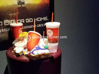 Regal Cinemas - Customer service and filth