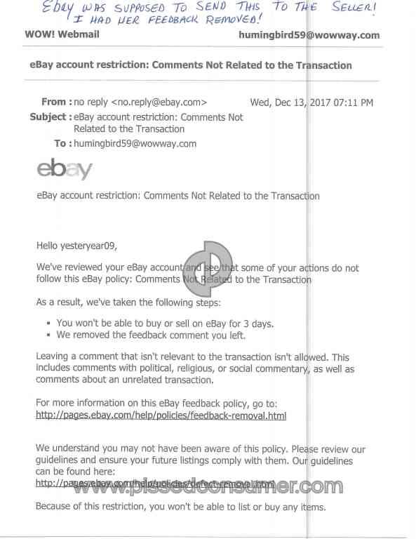 Ebay Account Reviews in California, USA