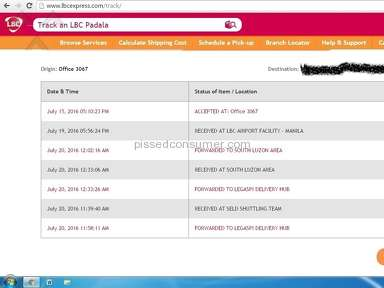 Lbc Express Delivery Service review 148516