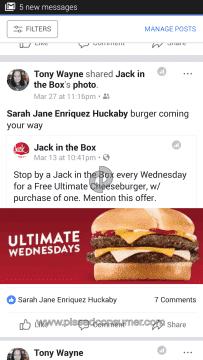 Jack In The Box Fast Food Restaurants Advertisement