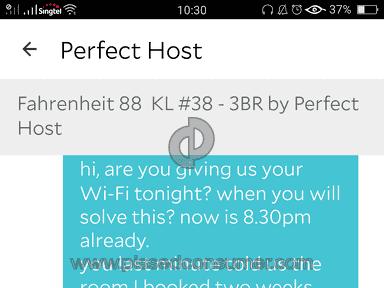 Felt like we had been cheated by Perfect host of agoda @ Fahrenheit 88 #38 luxury 3 bedrooms
