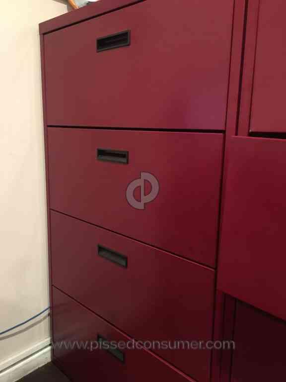 Office Depot   Sandusky Cabinets UNSAFE Item 362009