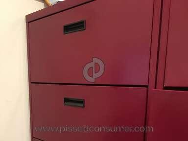 Office Depot - Sandusky cabinets UNSAFE Item 362009