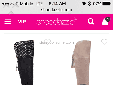 Shoedazzle Vip Membership review 165166