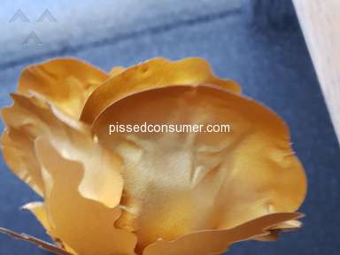 Florence Scovel Forever Gold Rose Artificial Flowers review 318436