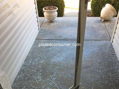 Larson Doors - Our Larson Glass Storm Door Glass Exploded like a BOMB!!!