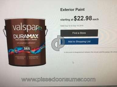 Lowes Valspar Paint review 435378