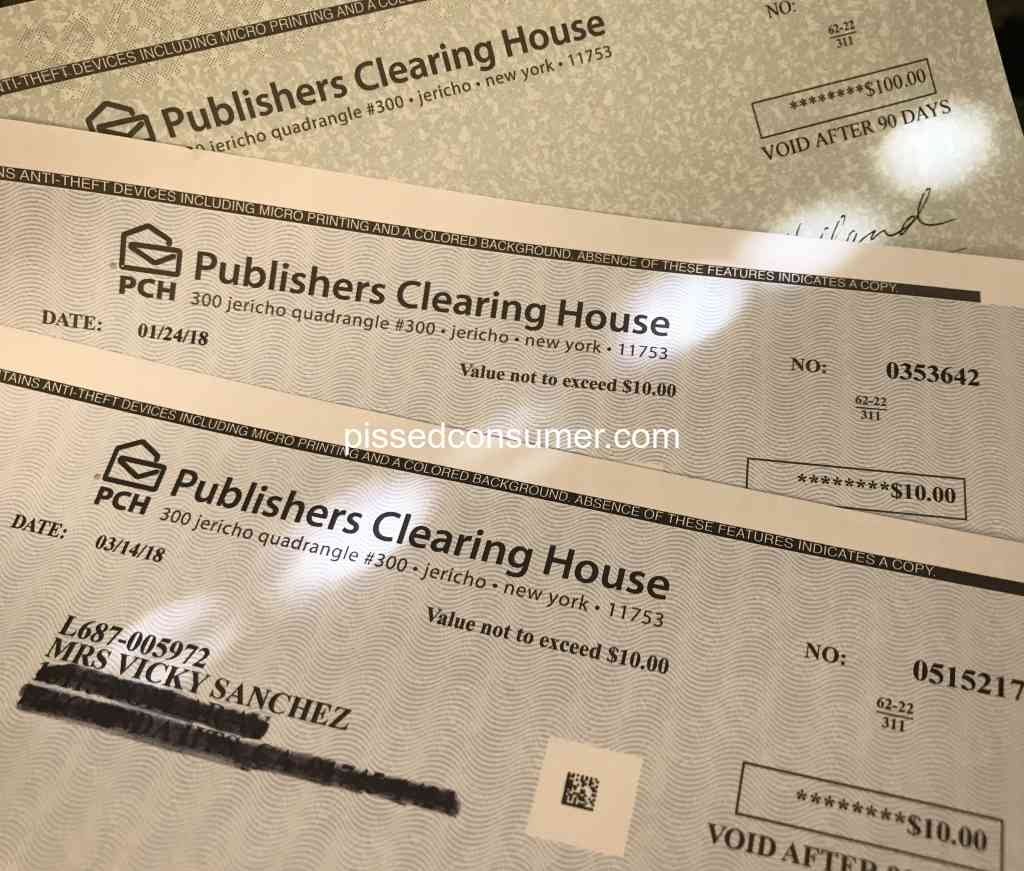 Publishers Clearing House - Love PCH! I have won some