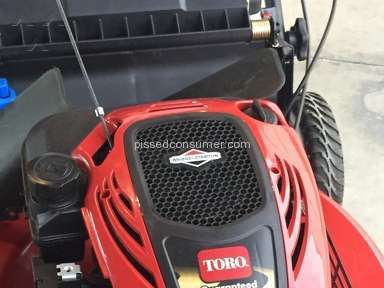 Home Depot Toro Lawn Mower review 85917