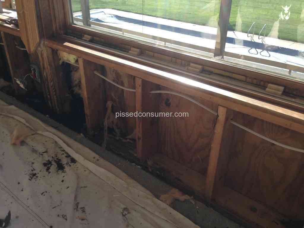 Marvin windows and doors rotting marvin windows leaking for Milgard windows reviews consumer reports