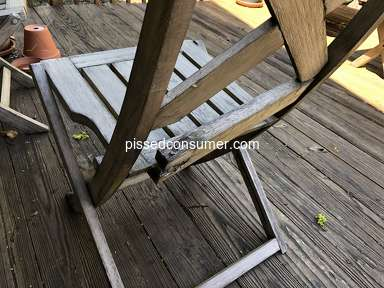West Elm - Jardine cardboard outdoor chairs
