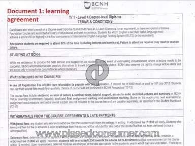 BCNH Course review 39653