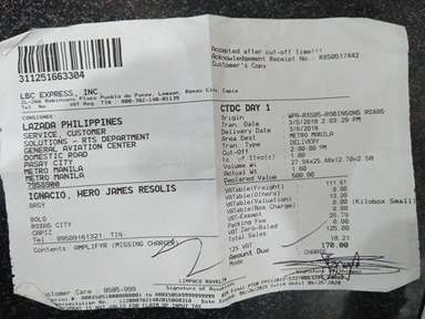 Lazada Philippines Shipping Service review 270890