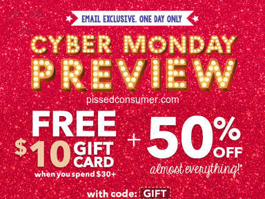 Claires - Cyber Week Bad Deal